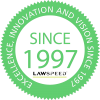 since1997 darker green with new lawspeed logo.jpg